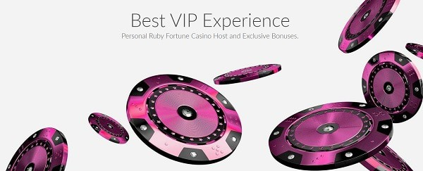Ruby Fortune Online Casino free spins