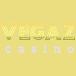 Vegaz Casino banner logo