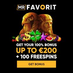 Mr Favorit Casino free bonus on deposit