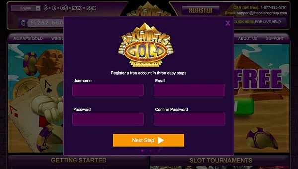 Open your account and get 25 free spins bonus!