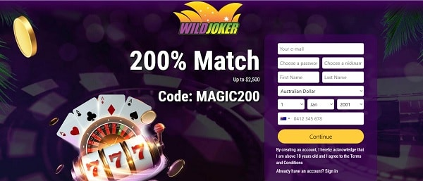 $50 free chip on online pokies (no deposit bonus) - Australia / New Zealand