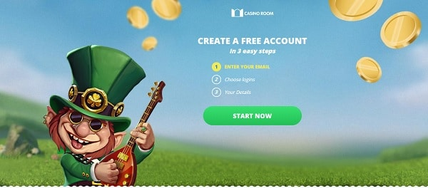 Open your account for free and play for real money!