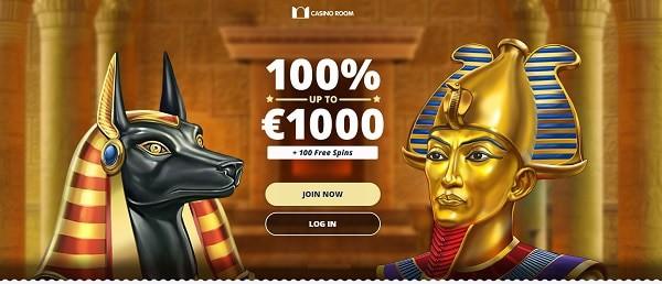 100% bonus and 100 gratis spins on first deposit