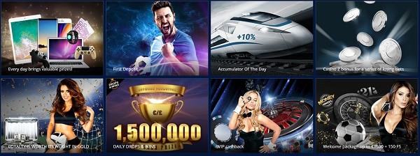 Play Slots and Live Games for free!
