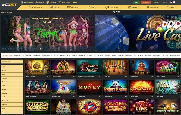 The best casino games and sports betting on the website!