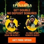 How to get 50 no deposit free spins to Spinamba Casino?