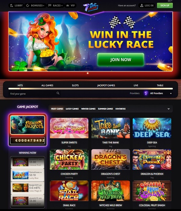 Play the best crypto casino online!