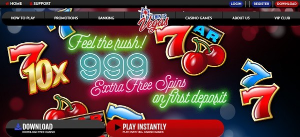 999 free spins