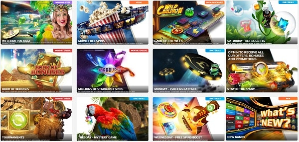 Unique Games NetBet Casino