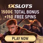 1XSlots Casino 20 free spins exclusive no deposit bonus