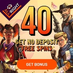 All Right exclusiv free spins bonus