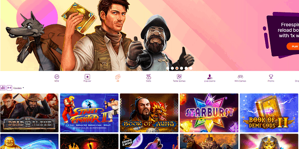 All Right Casino Website Review