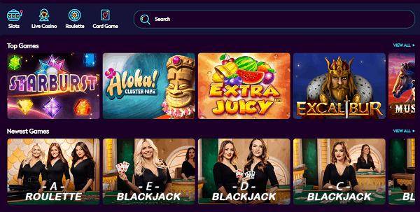 Slots and Live Dealer games