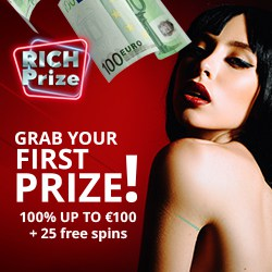 Grab your first prize now!