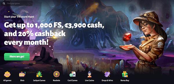 Get 1000 FS bonus!