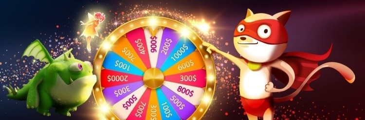 Spin the wheel and win!