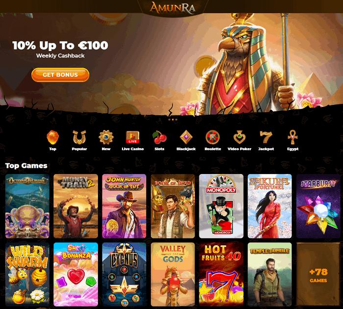 Amun Ra Casino Full Review