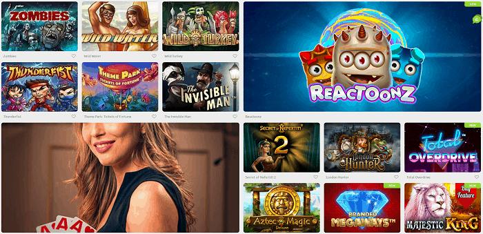 Cadoola Casino Games