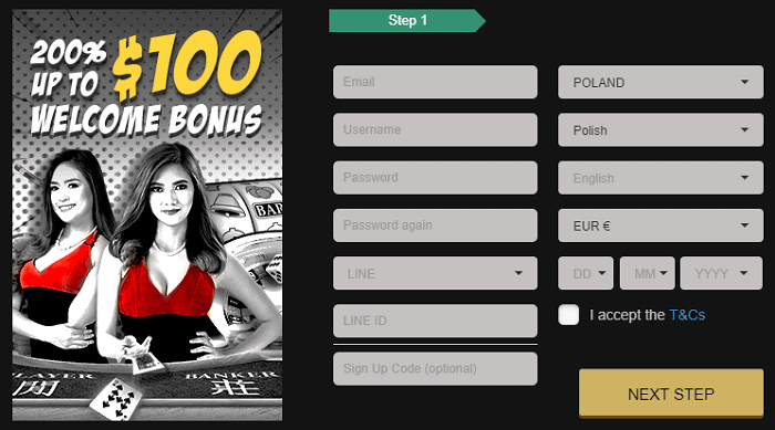 Get $100 Bonus and Free Spins!