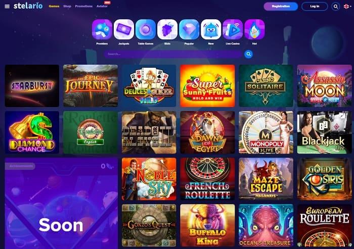 Stelarino Online Casino Review & Rating