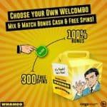 Whamoo Casino [register & login] 300 free spins bonus code