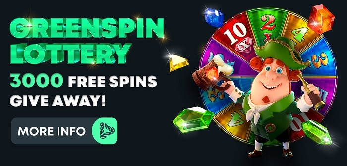 3000 free spins giveaway