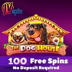 100 free spins on the Dog House slot machine