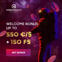 550 EUR welcome offer