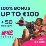 Is Wild Fortune Casino legit? Get €300 bonus + 100 free spins!
