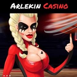 Arlekin Casino exclusive banner