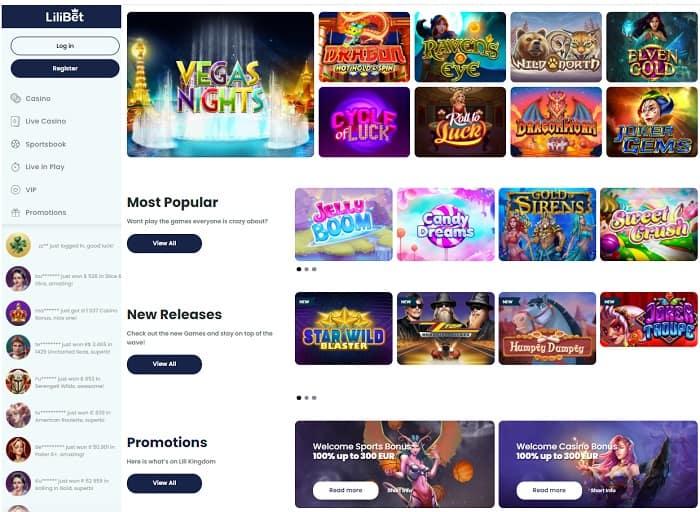 Popular Games Free Spins