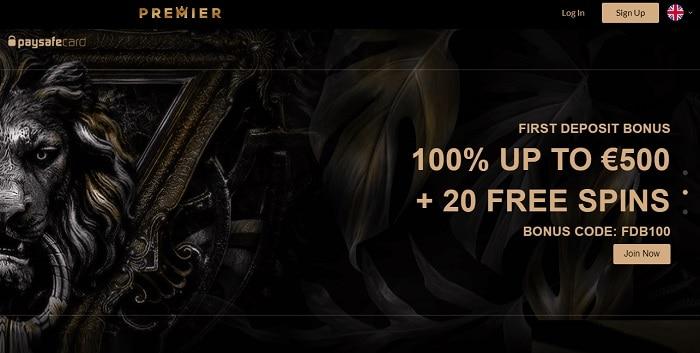 20 free spins bonus code